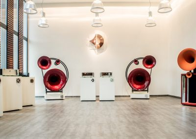 Showroom der Avantgarde Acoustic GmbH